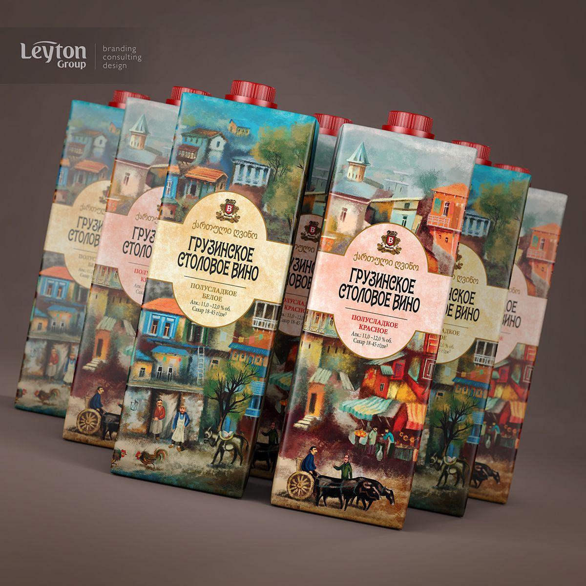 Bolero, грузинское вино – дизайн – Leyton Group
