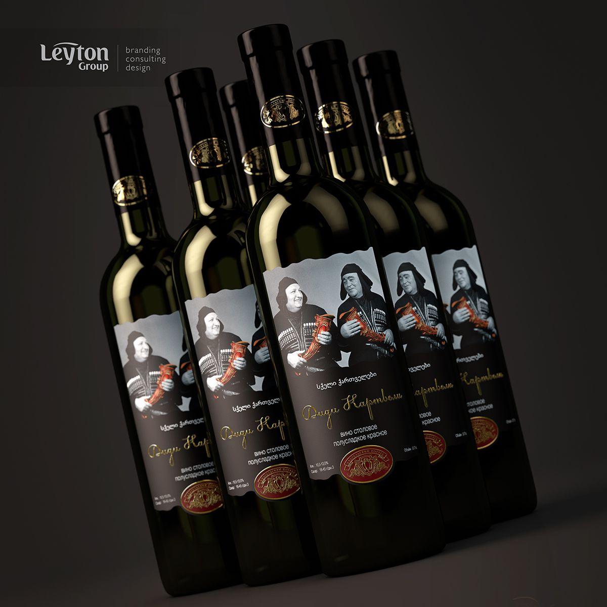 Didi Qartevli, грузинское вино – дизайн – Leyton Group